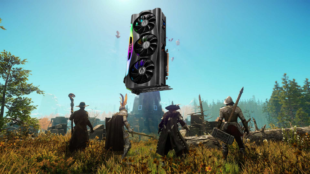 The Geforce RTX 3090 is said to have been destroyed by the Amazon New World game