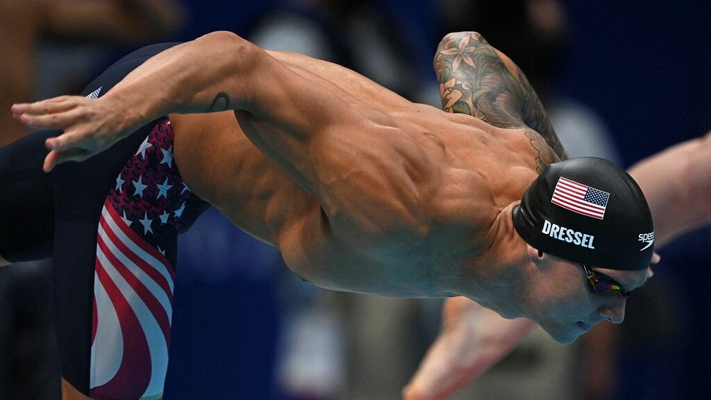 The gold rush has begun for Philip's successor at the Olympics: Caleb Dressel