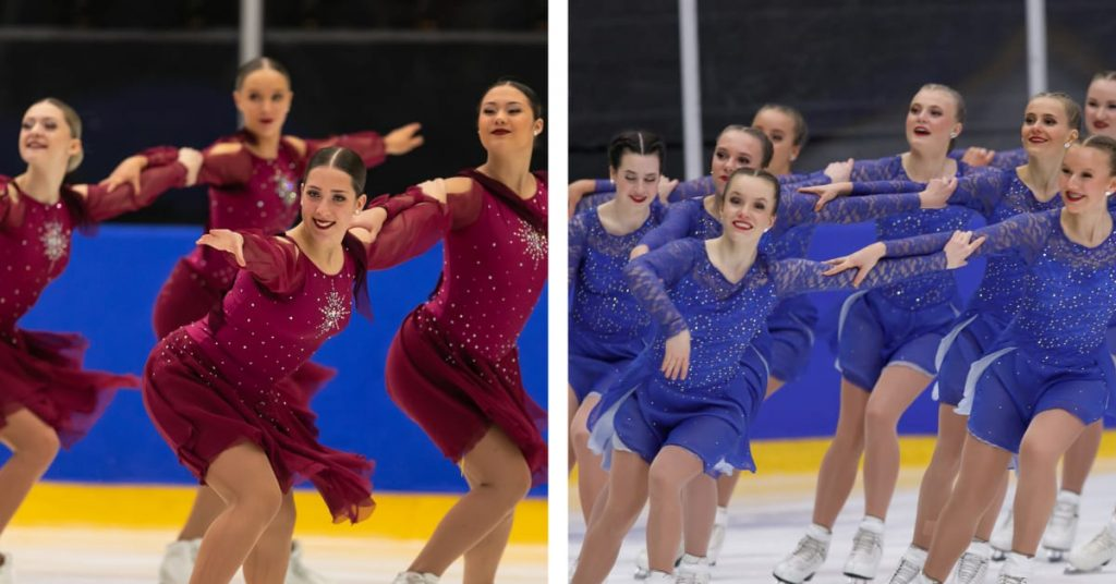 This weekend, the Junior World Championships in Synchro Skating will be decided
