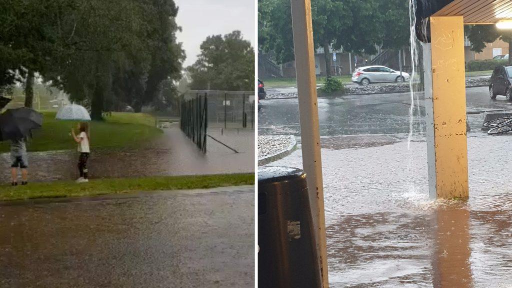 "Tranus - Heavy rain: ""Never seen anything like it"""