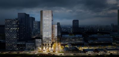 Skanska is investing €69 million, roughly SEK 700 million, in a new office project in Warsaw, Poland
