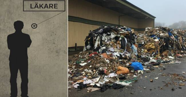 The men behind the garbage heap - two dead businessmen and a doctor
