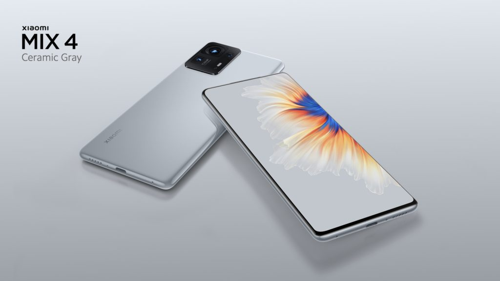 Xiaomi Mi Mix 4 launched with an invisible under-screen camera