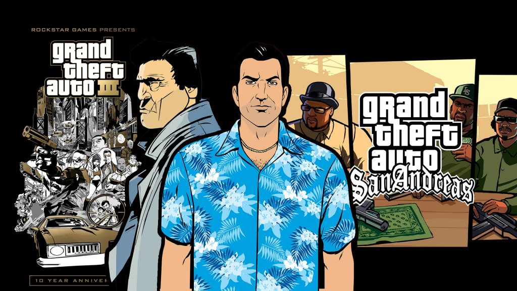 Rockstar will (apparently) release three remastered GTA classics this fall