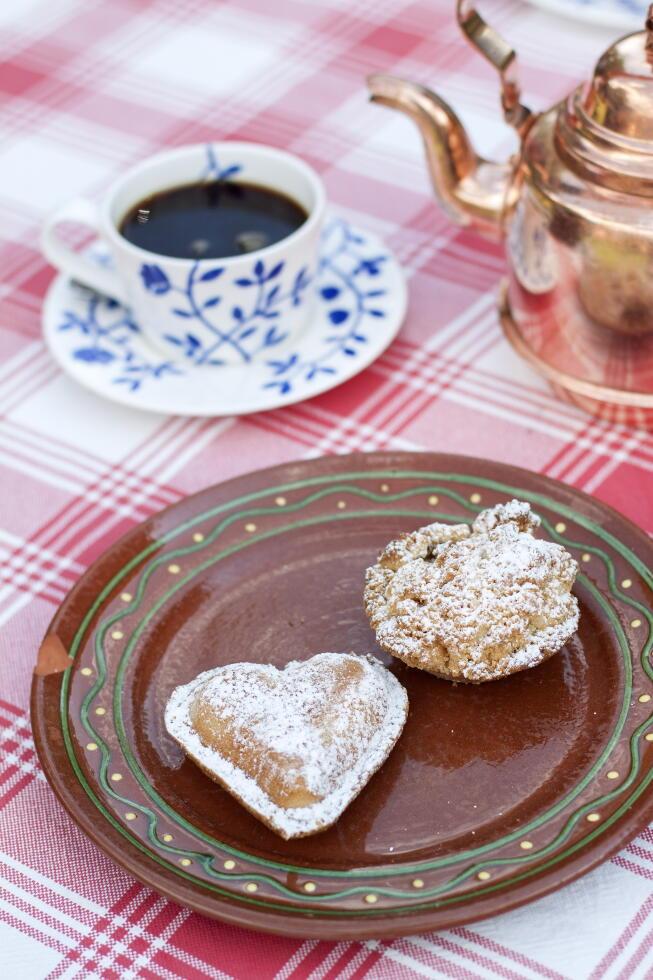 Vanilla hearts at Flickorna Lundgren.