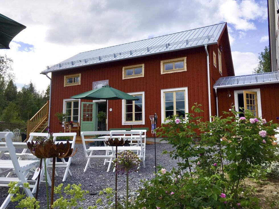 The Prestele Garden Café is located in Hörnsjö, in Västerbotten.