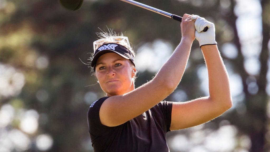 Anna Nordqvist alone Swedish women's golf competition: 'a little spoiled'