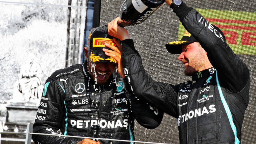 """""""He should thank Bottas for the win - it will be interesting to see how the stable intends to do it now"""" - Sport - svenska.yle.fi"""