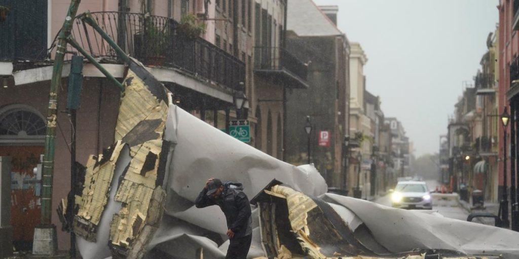 Hurricane Ida has reached the coast - in memory of Hurricane Katrina
