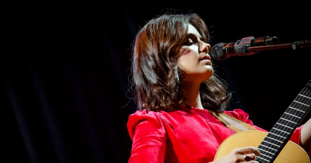 Katie Melua on tour 2020 - playing in the circus