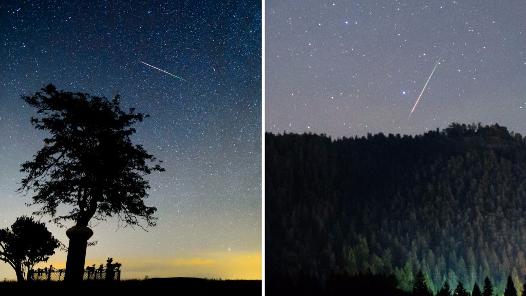 Perseids meteor rain - then you can see all the stars fall