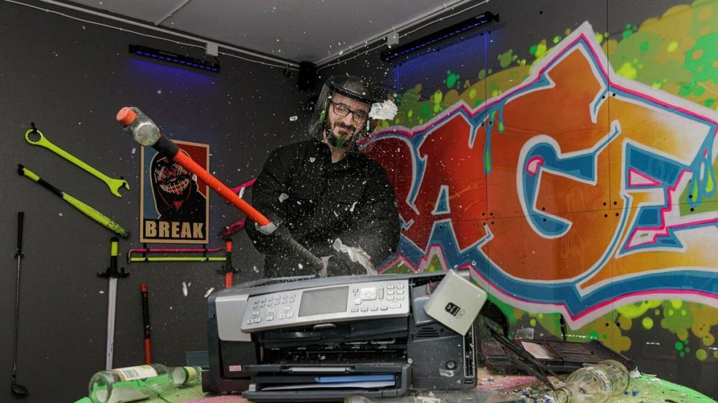 Rage rooms the new trend in Sweden