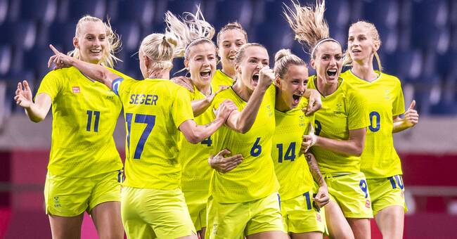 Sweden is close to getting a medal - ready for the semi-finals