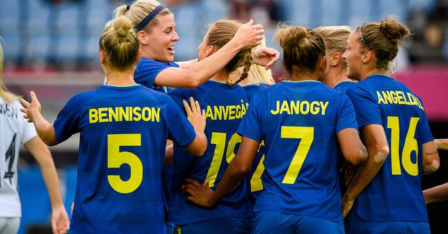 Sweden secured group victory - beat New Zealand