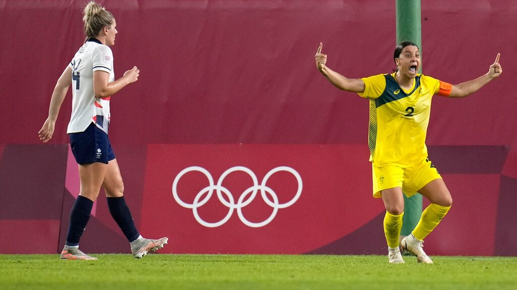 The mission in the Olympic semi-finals: Stop Sam Kerr