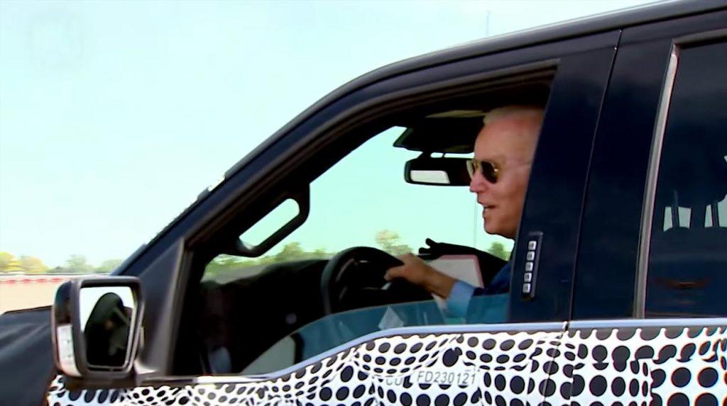 Video: President Joe Biden tests an electric car: 'That bastard was fast'