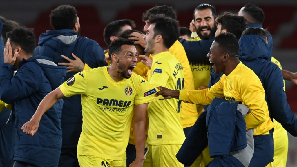 Villarreal beat Arsenal to finish last in the Europa League - Manchester United complete England's dominance of club football    Sports