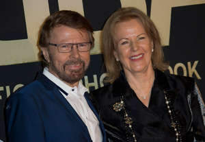 Bjorn and Frida in London 7 April 2014. Photo: Joel Ryan / Invision / AB / DT