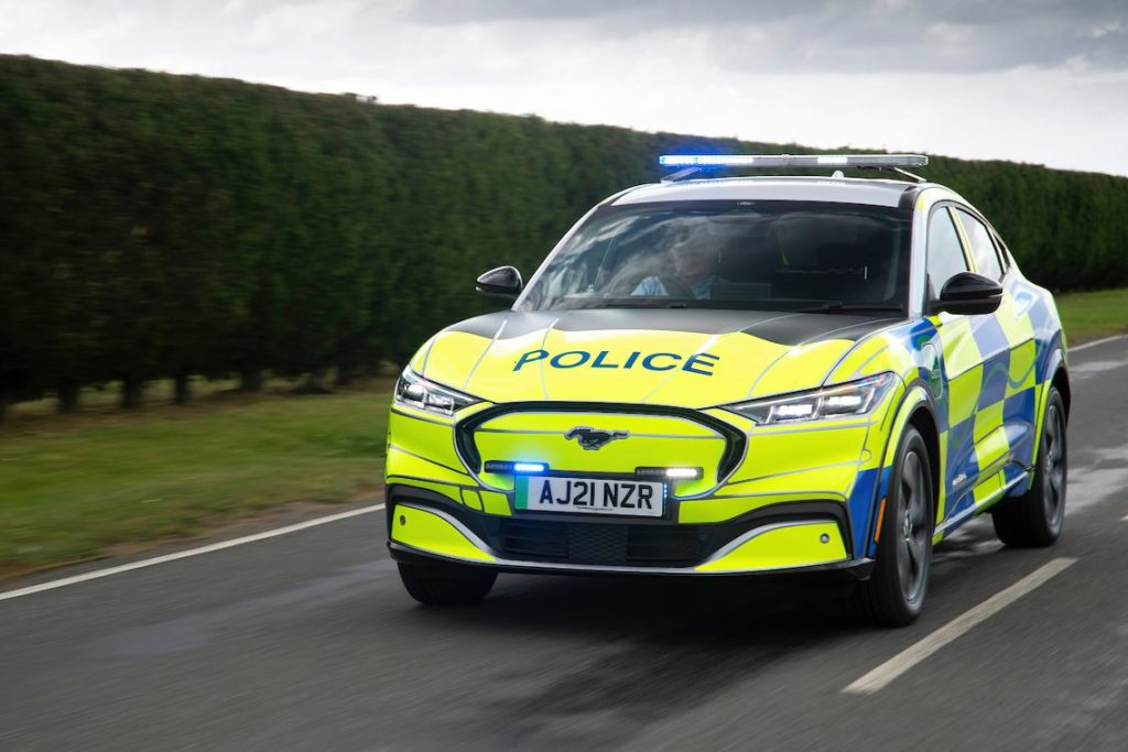 The Mustang Mac-E could become Britain's new police car