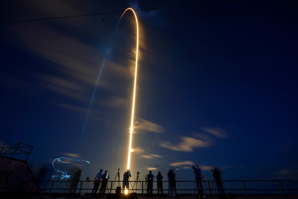 Historic Spacex Launch - The Inspiration4 Gang in Space