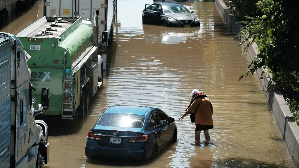 A state of emergency declared after flooding in the New York area