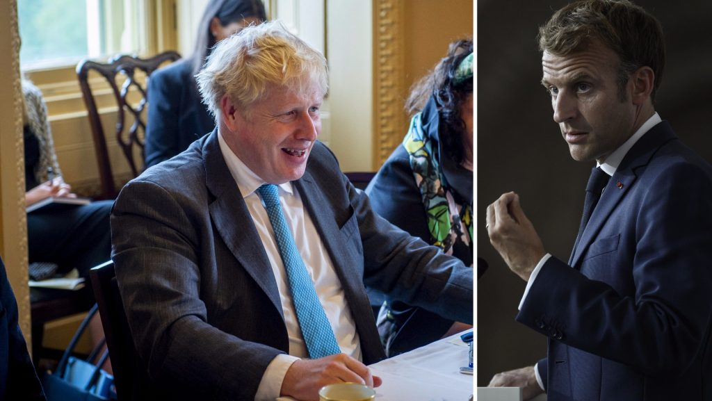 Boris Johnson mocks Macron-Piton in conversation with France