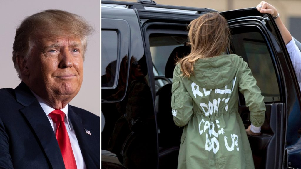 """Donald Trump shouted at Melania: """"What the hell are you doing?"""""""