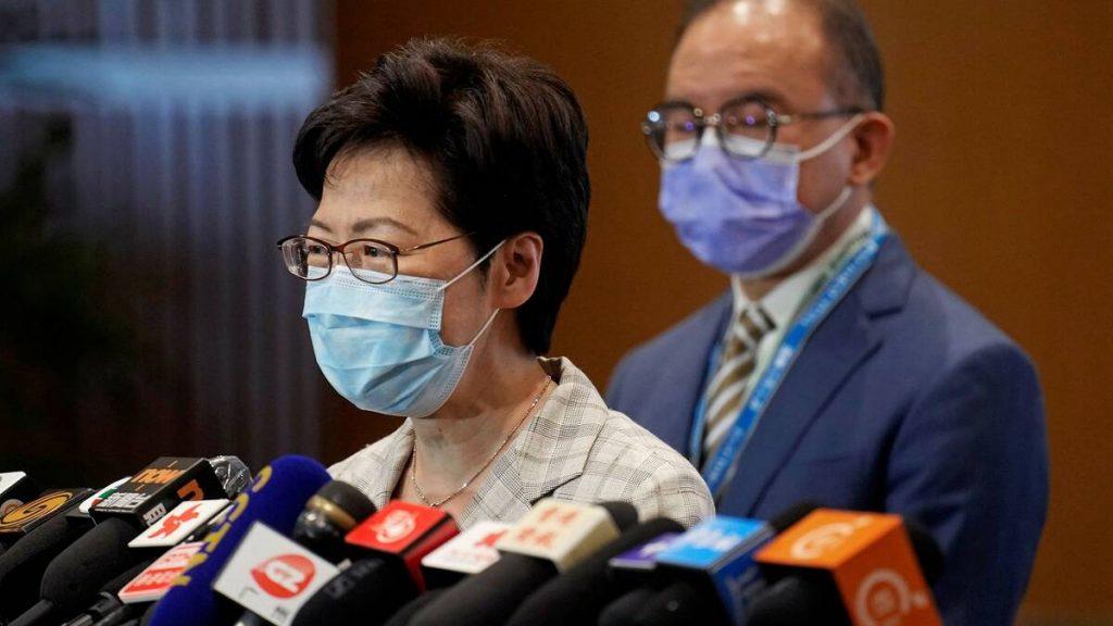 Hong Kong's political elite go to the polls