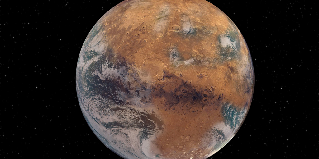 Mars is a hopeless fall - so the planet lost its water