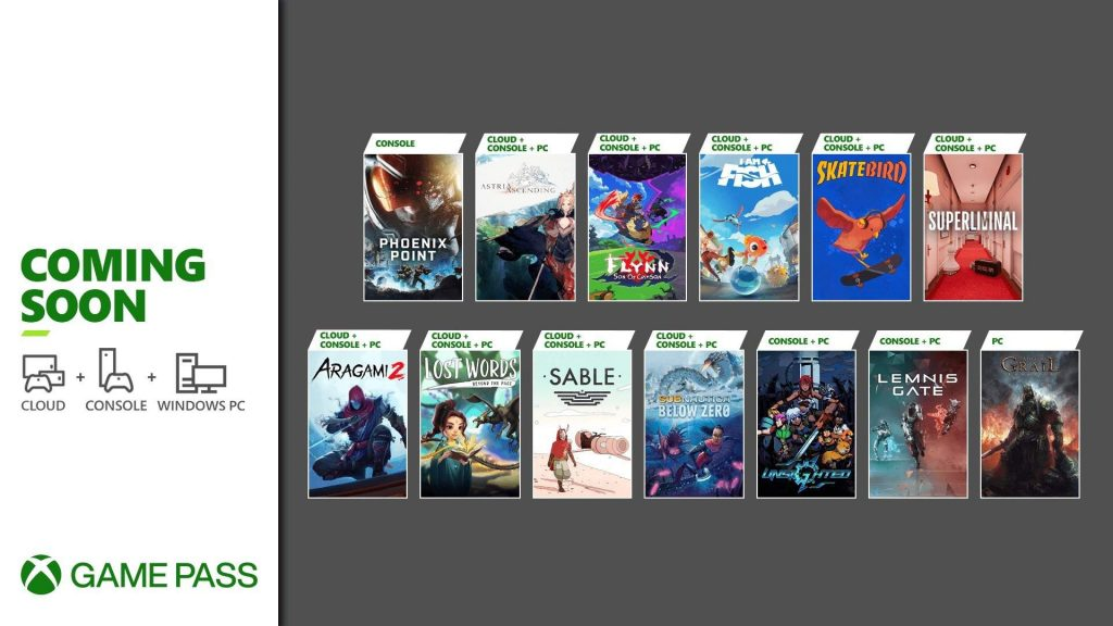 Microsoft Game Pass fills you up with more quality games.  SkateBird!