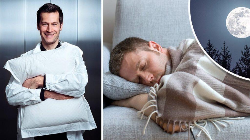 New research: Men sleep worse than women when...