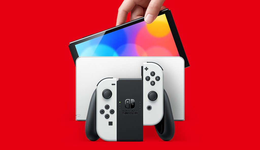 Nintendo Switch OLED is compared to the original