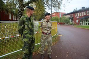 Brigadier General Johan Beckari in the Swedish Armed Forces and Major Alex Holt in the Army in the British Armed Forces.