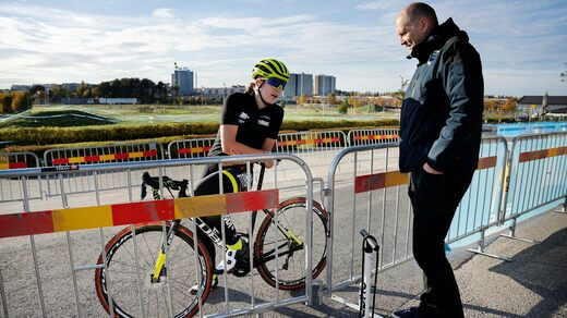 Zoe Baxted says of the cycling world's popular name, Magnus:
