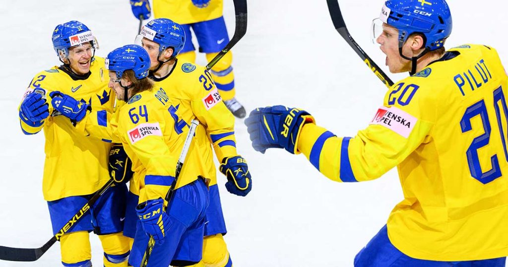 Tre Kronor's beautiful revenge after the nightmare that started against Great Britain - the qualifying jump continues after a clear win