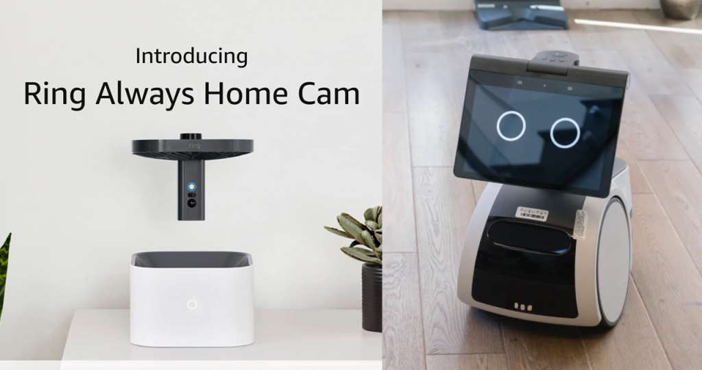 Amazon introduces Alexa Robot and Surveillance Drone