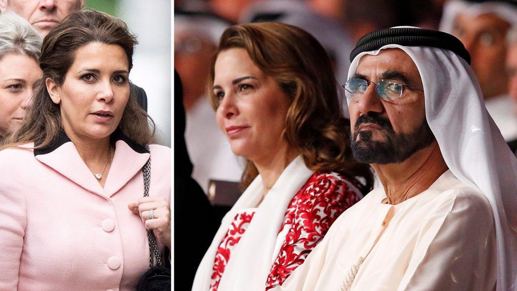 And the Sheikh ordered to eavesdrop on the Princess of Jordan, Haya