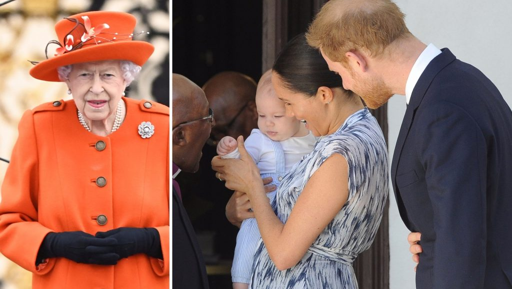 Harry and Megan did not allow Lilliput to be baptized in England