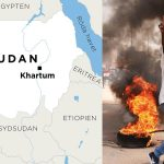 Street protests after Sudan coup – at least seven dead