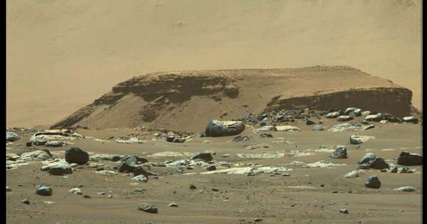 The new results change the picture of the lake on Mars